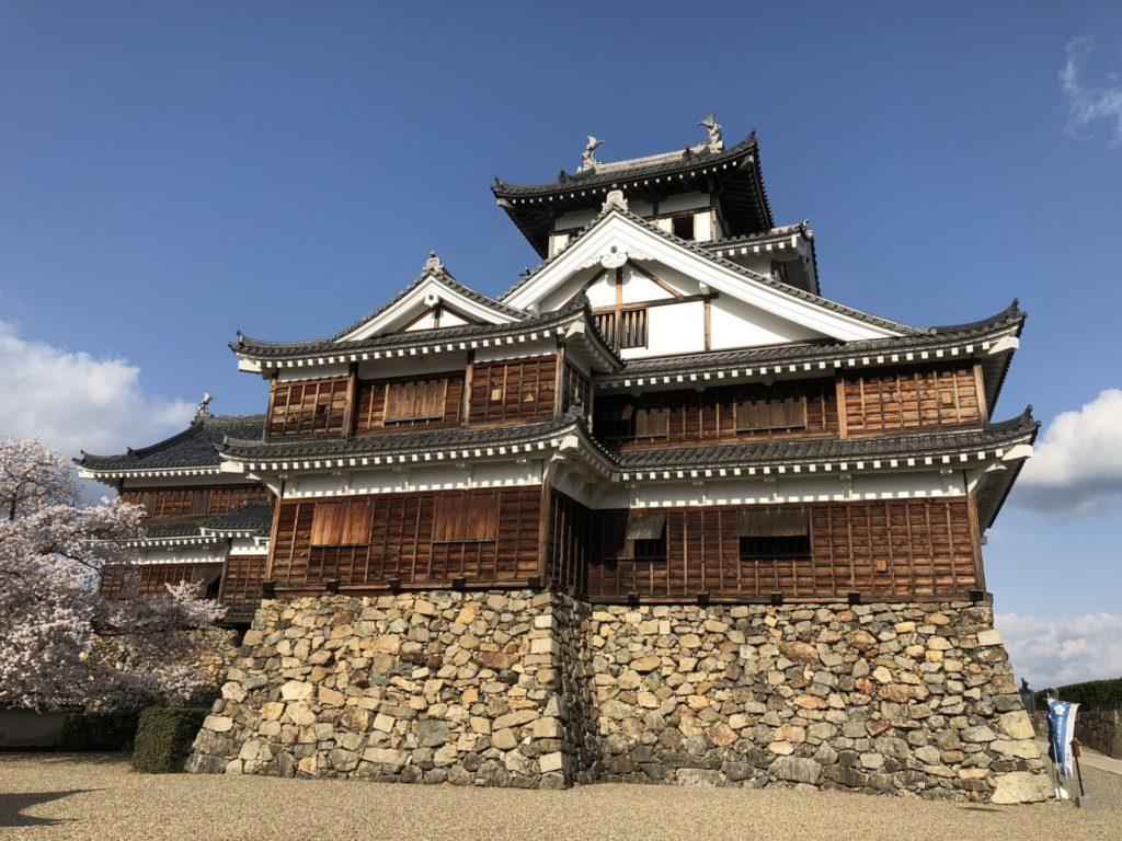 光秀の居城 福知山城